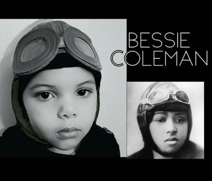 Лола в образе Бесси Колман. Автор: Cristi Smith-Jones.