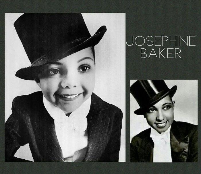 Лола в образе Жозефины Бейкер. Автор: Cristi Smith-Jones.