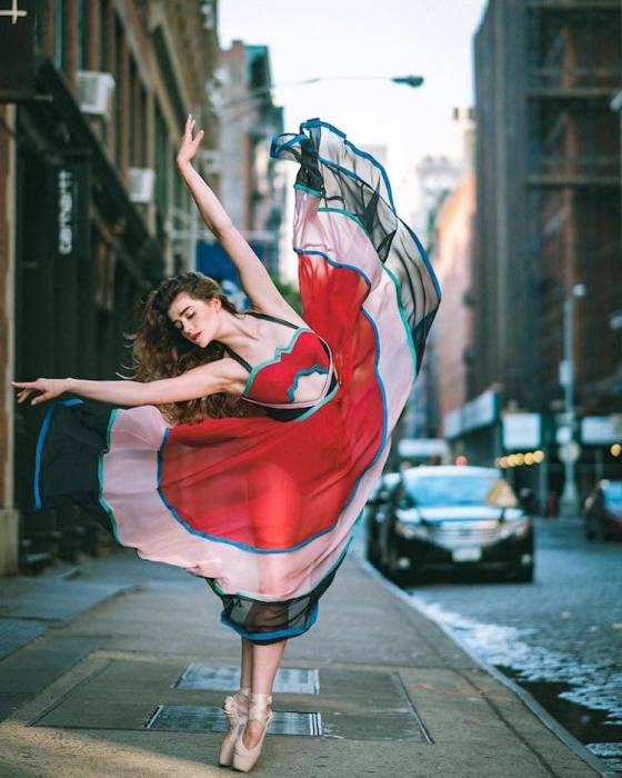 Уличные танцы. Автор: Omar Robles.