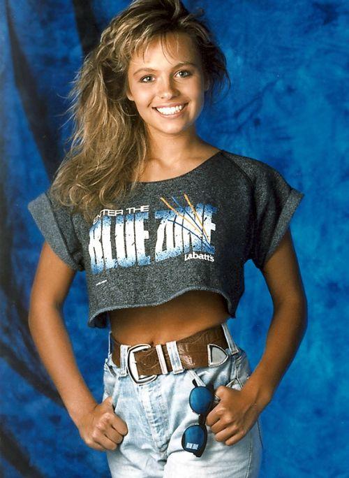 21-летняя Памела Андерсон, Ванкувер, 1989 год.