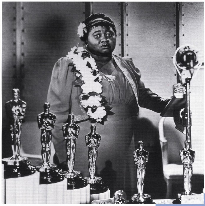 Хэтти Макдэниел - первая темнокожая актриса, получившая «Оскар», 1940 год, Лос–Анджелес.