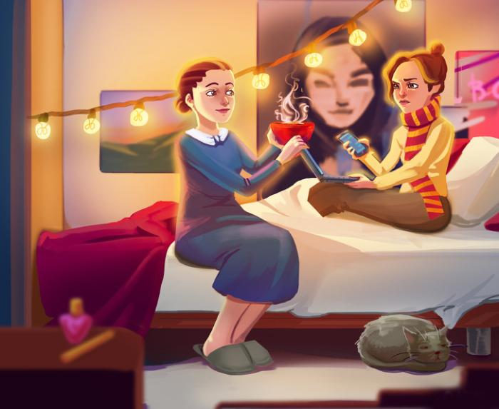 Для неё мы всегда будем такими же маленькими и несмышлеными, как в детстве. Автор: Natalia Breeva.