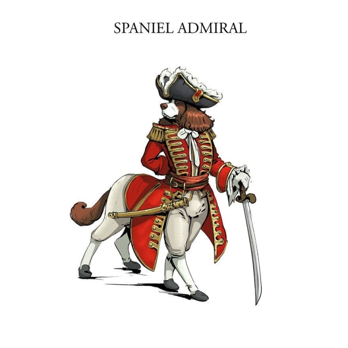 Адмирал-спаниэль. Автор: Никита Орлов.