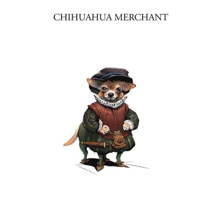 Торговец-чихуахуа. Автор: Никита Орлов.