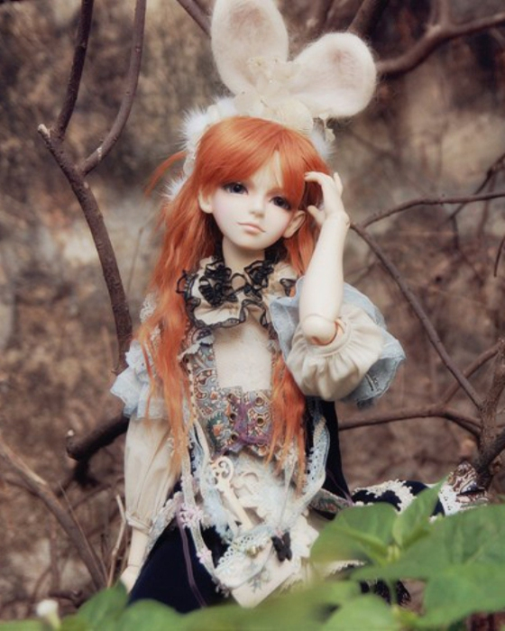 Очаровательные куклы.