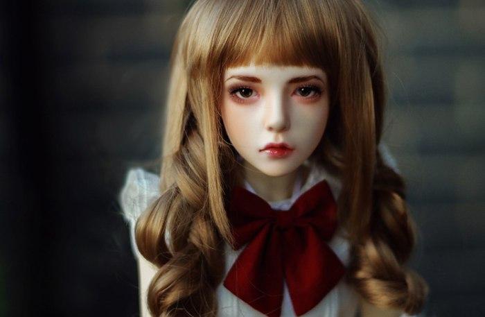 Потрясающе реалистичные куклы.
