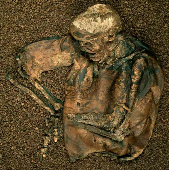 Человек из Линдоу. \ Фото: manchestereveningnews.co.uk.