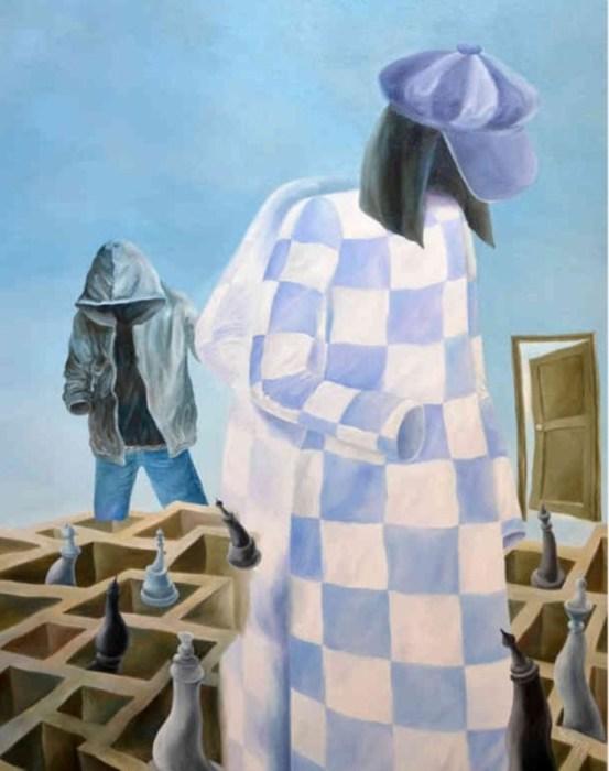 Безликие шахматы. Автор: Елена Дюмин.
