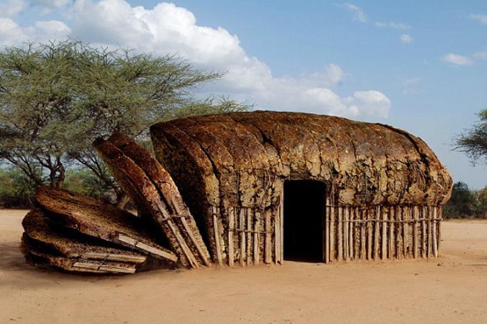Хлебный домик.