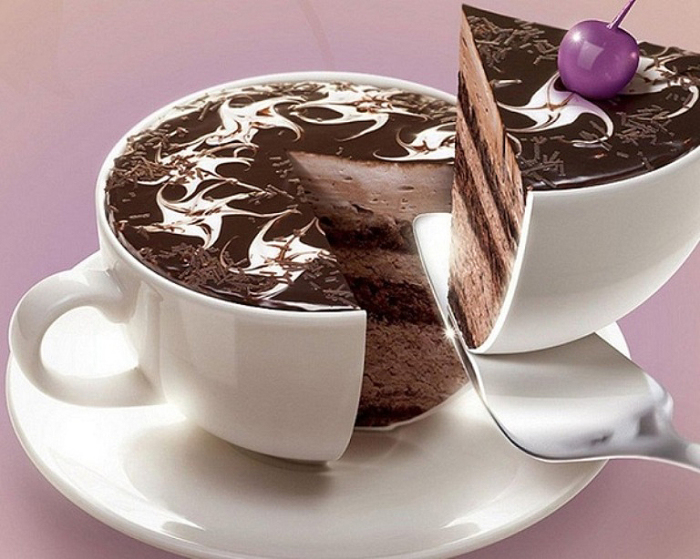 Кусок торта.