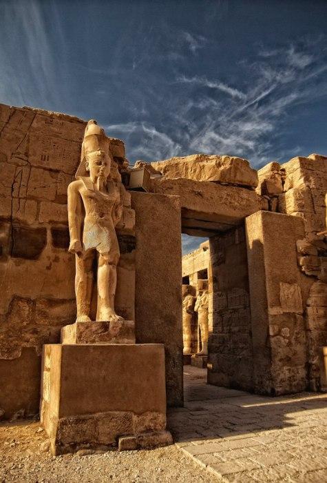 Храм в Луксоре. Египет.