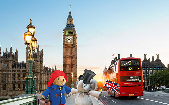 А ещё посетить Лондон.