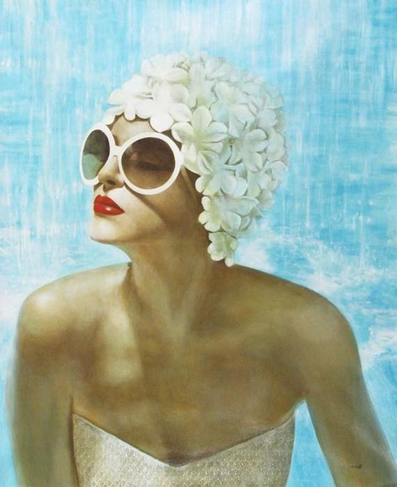 Элегантно-изысканные портреты очаровательных ретро-девушек, устоять перед которыми просто невозможно