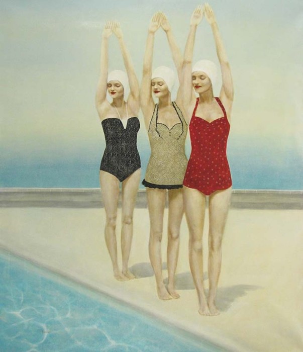 Три грации. Автор: Elise Remender.