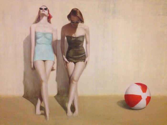 На пляже. Автор: Elise Remender.