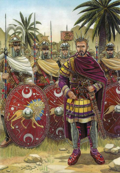Луций Домиций Аврелиан (кадр из игры «Тотальная война: Рим II»). \ Фото: twcenter.net.