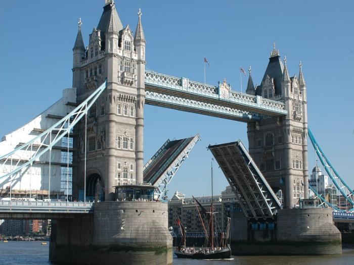 Тауэрский мост. Лондон.