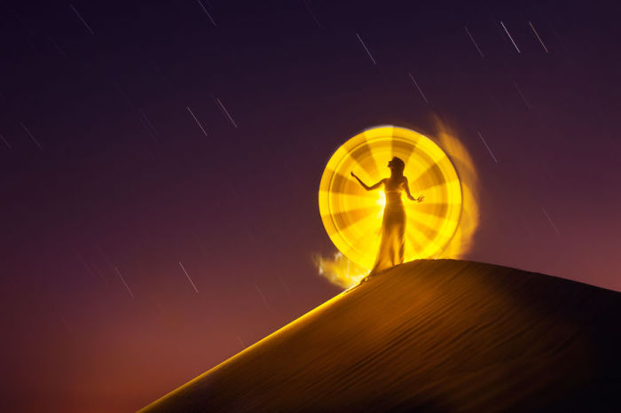 Магический круг. Работы Эрика Паре (Eric Pare).