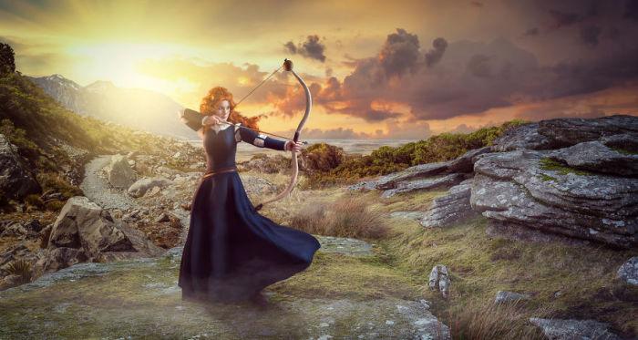 Образ Мериды от фотографа Sanna Vornanen.