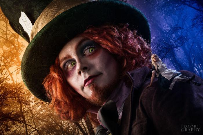 Алиса в стране чудес. Автор: Jani Kormu.