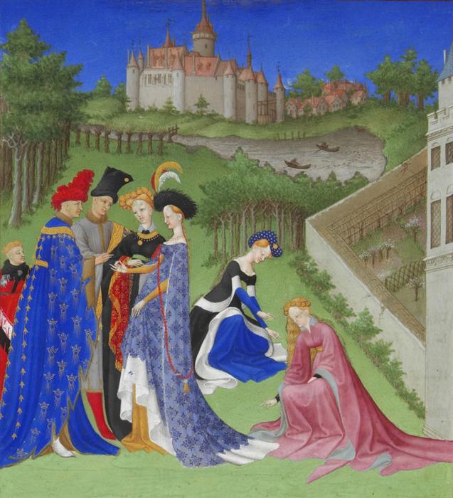Великолепный часослов герцога Беррийского, братья Лимбург, 1412-16 гг. \ Фото: digitalmedievalist.com.