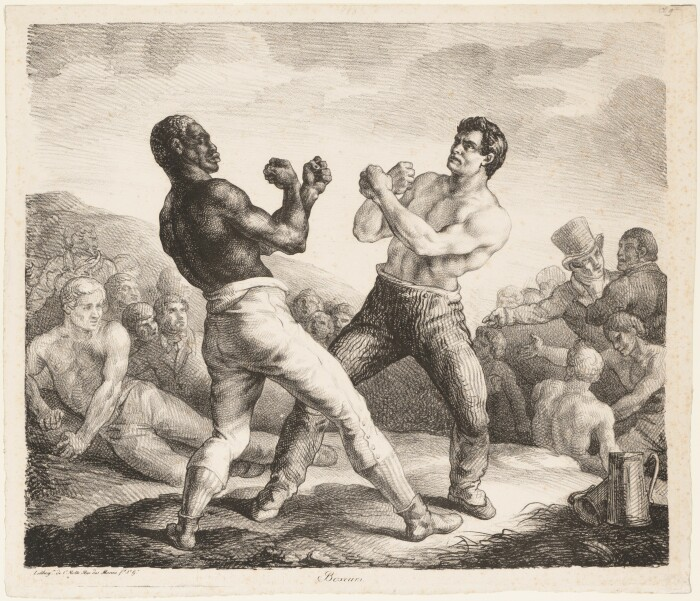 Боксёры, Теодор Жерико, 1818 год. \ Фото: metmuseum.org.