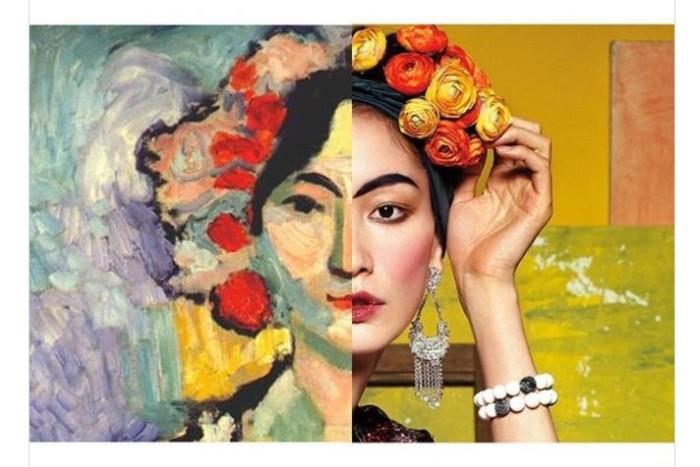 «Идол», художник Анри Матисс, 1905-1906 гг. и журнал «Singles», 2012 год.