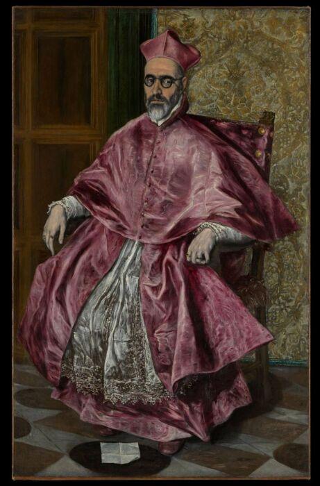 Фернандо Ниньо де Гевара (1541–1609 гг.),(Доменикос Теотокопулос), Эль Греко, около 1600 года. \ Фото:  blogspot.com.