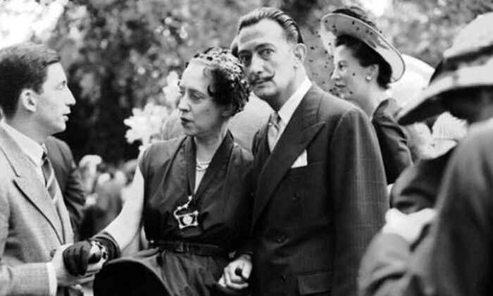 Сальвадор Дали и Эльза Скиапарелли, 1949 год. \ Фото: elespanol.com.