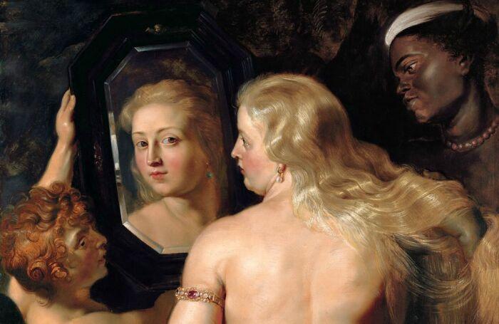 Венера перед зеркалом, Питер Пауль Рубенс, 1615 год. \ Фото: wordpress.com.