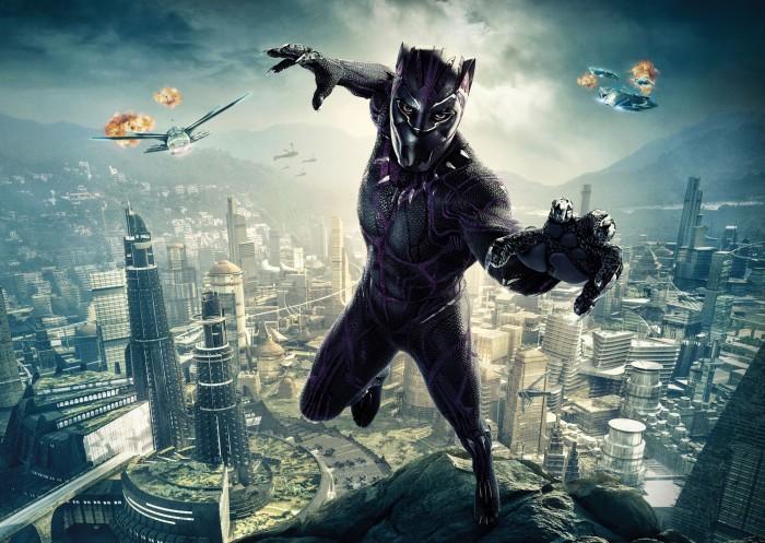 Кадр из фильма Чёрная пантера.