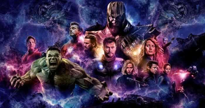 Кадр из фильма Мстители: Эндшпиль.