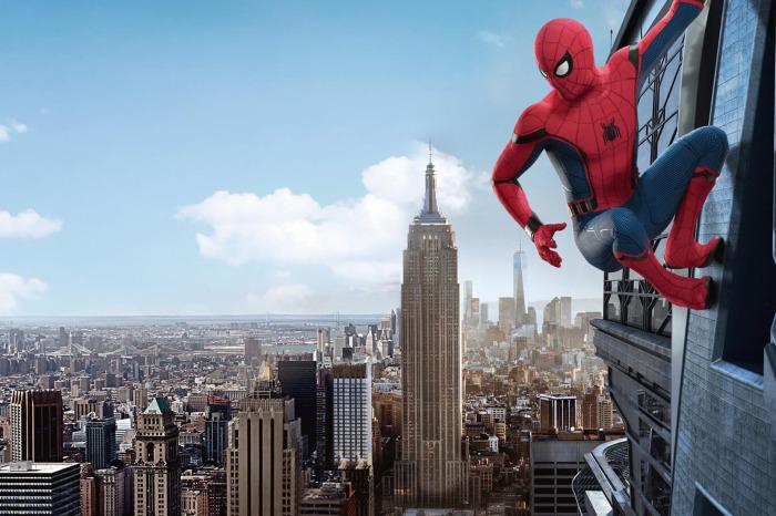 Кадр из фильма Человек-паук: Вдали от дома.