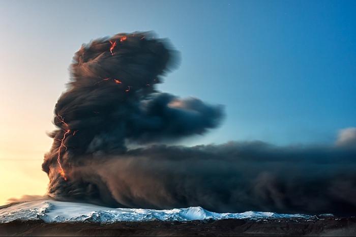 Вулканическая Исландия. Автор фото: Гуннар Гестур.