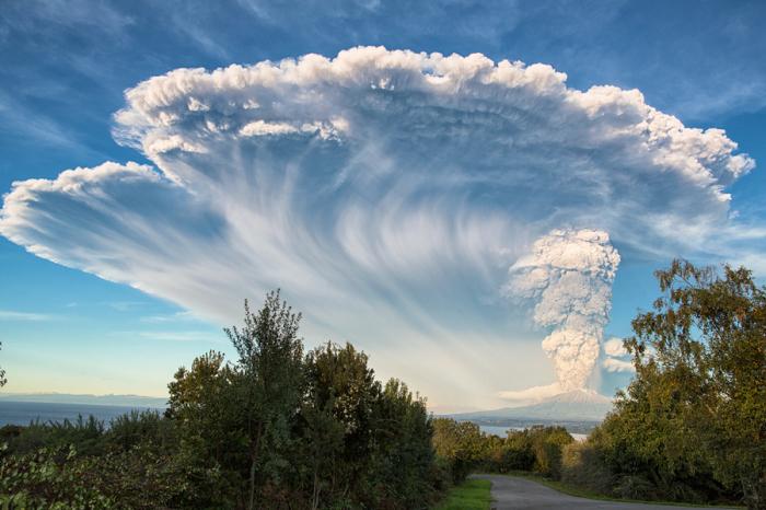 Вулкан Кальбуко. Автор фото: Марсело Дуффлок.