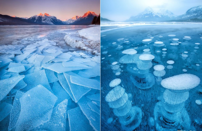 Ледяные просторы.