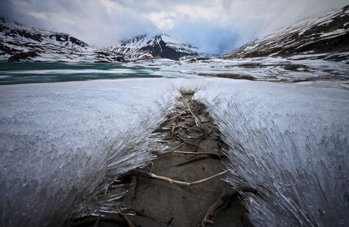 Ледяные узоры.