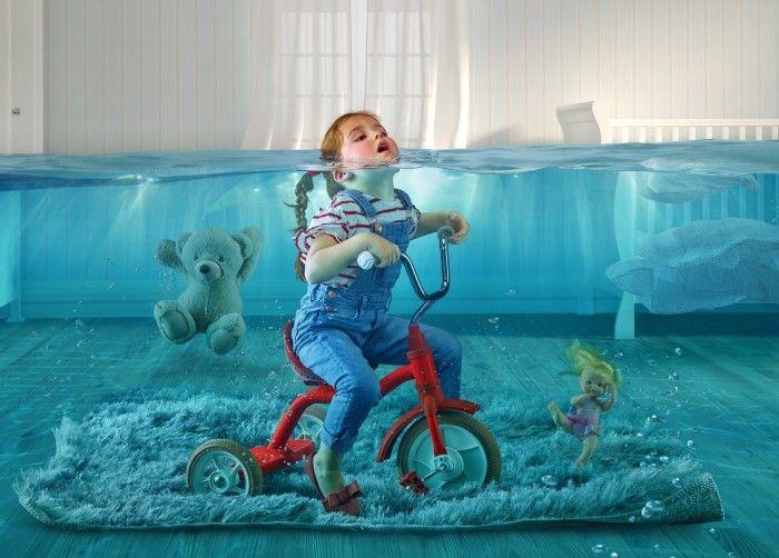 Наводнение. Автор: Joan Garrigosa и Alex Torrens.