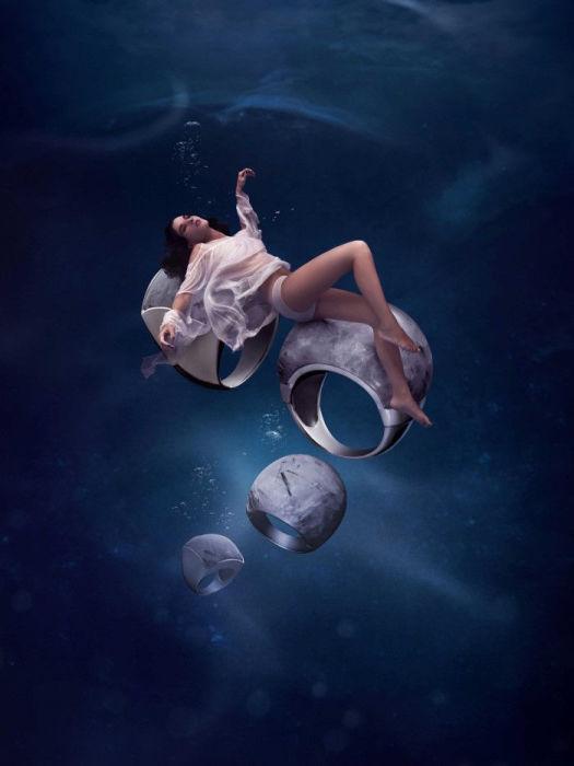 Кольца Сатурна. Автор: Joan Garrigosa и Alex Torrens.