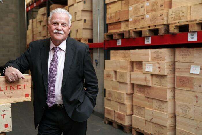 Alain Decrausaz - директор Женевского порта. \ Фото: google.com.