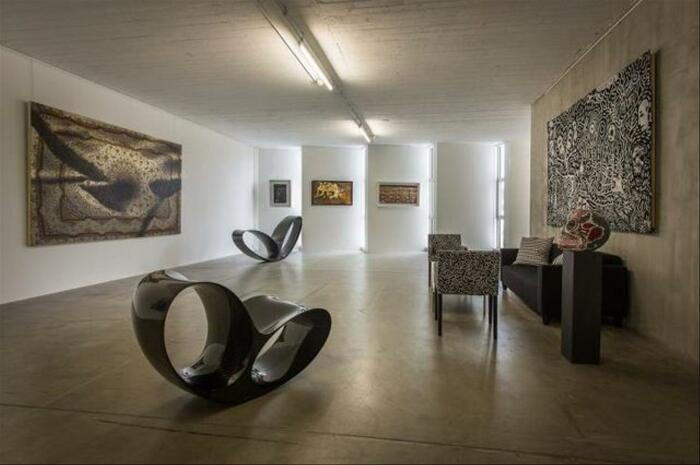 Галерея изящных искусств Джонатана Лахьяни, расположенная в Свободном порту Женевы. \ Фото