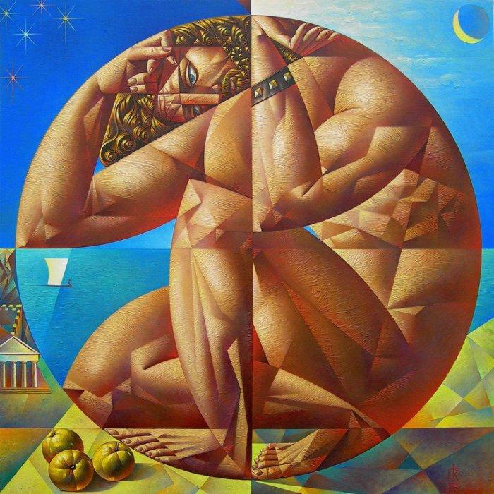 Подвиг Геракла: яблоки гесперид. Автор: Георгий Курасов.