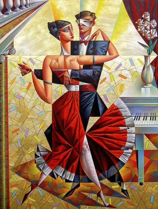 Танец. Автор: Георгий Курасов.