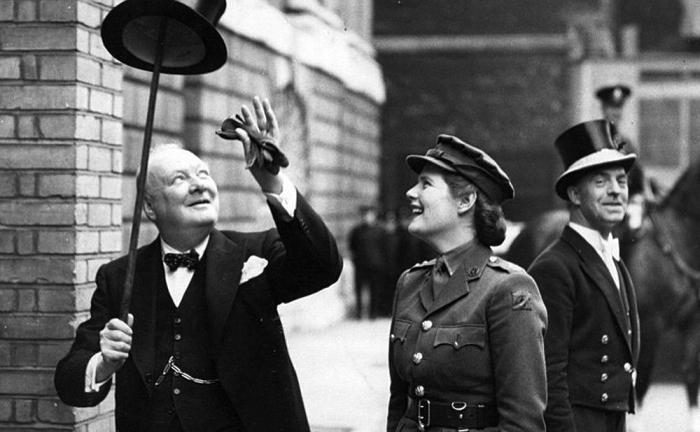Уинстон Черчилль. \ Фото: e-mba.ru.