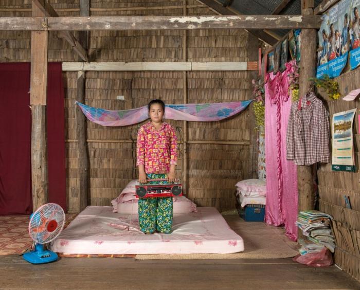 Йенг, 19 лет, Кампонг Плак, Камбоджа.