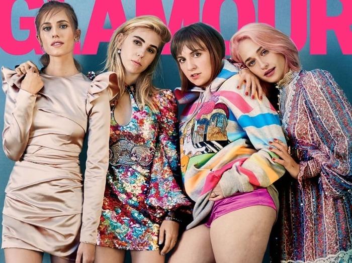 Актрисы популярного сериала «Девочки» стали героинями журнала Glamour. \ Фото: 23-59.com.ua.
