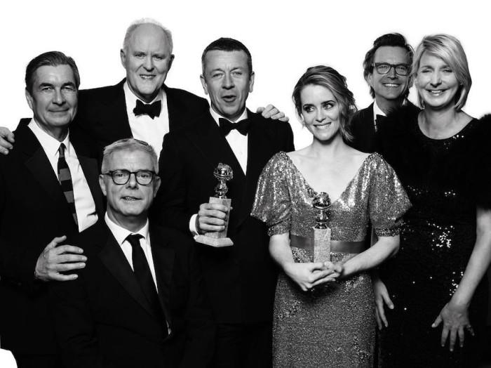 Команда «Корона». Номинация «Лучший сериал, драма». Авторы: Mert Alas и Marcus Piggott.
