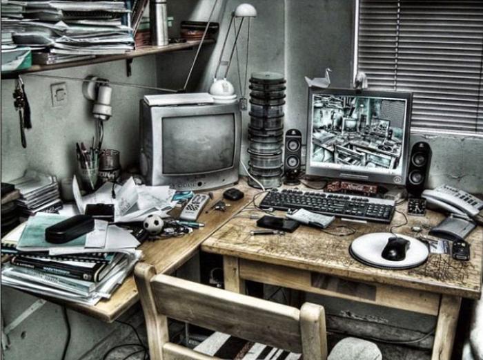 Рабочее место программиста.