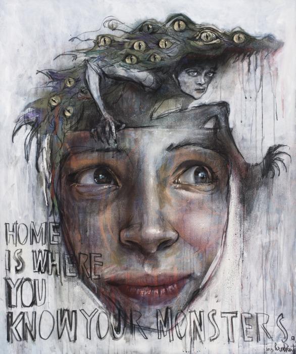 Монстры внутри нас. Автор: Herakut.