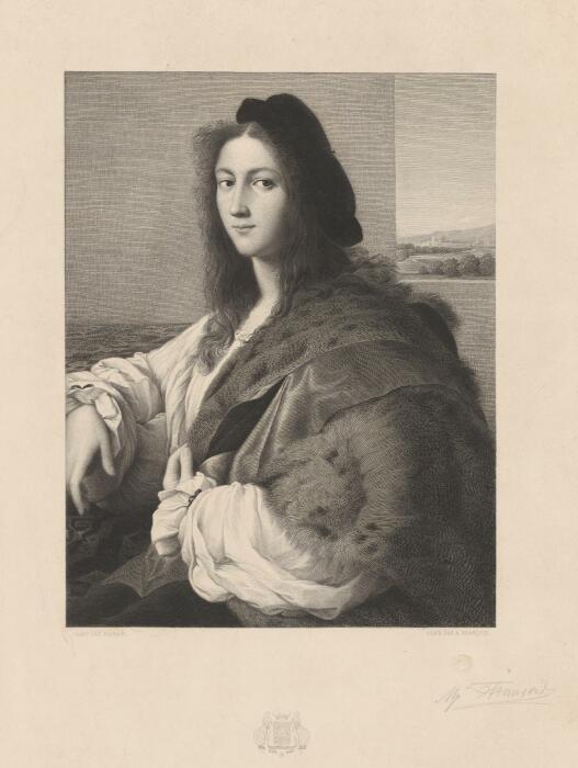 Портрет молодого человека кисти Рафаэля, 1514 год. \ Фото: ngv.vic.gov.au.